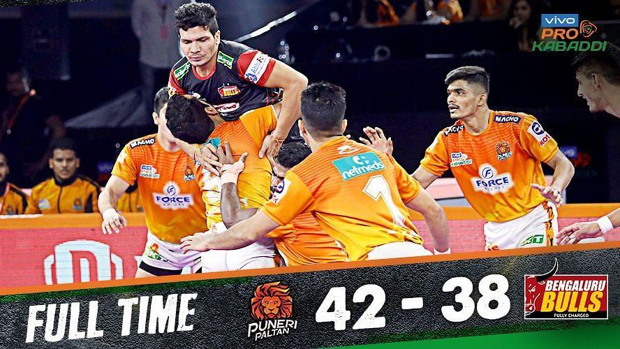 Pro Kabaddi: Puneri Paltan End Home Leg With Win Over Bengaluru
