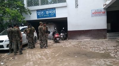 Muzaffarpur: Central Bureau of Investigation (CBI) officials conduct search operation at the shelter home in Bihar
