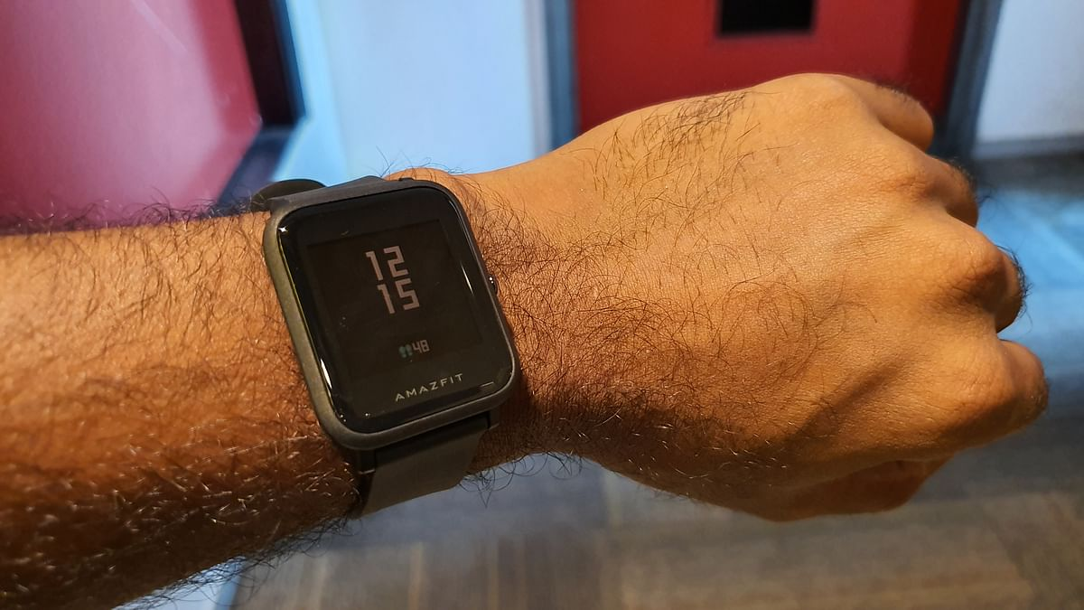 The Amazfit Bip Lite comes with an always-on display.