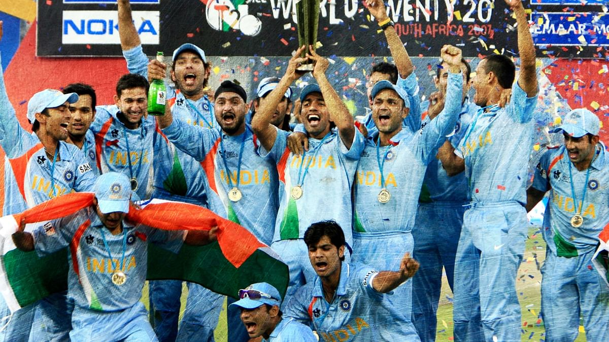 On 24 September 2007, MS Dhoni's young Indian team won the inaugural T20 World Cup in South Africa.