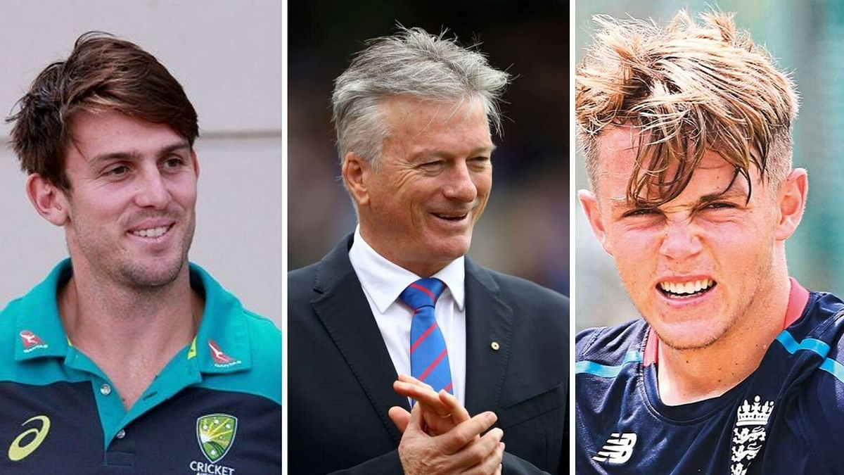 Steve Waugh's 'Throwback Wednesday' Feat. Sam Curran & Mitch Marsh