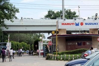 Gurugram: Maruti Suzuki plant, Gurugram. (Photo: Bidesh Manna/IANS)