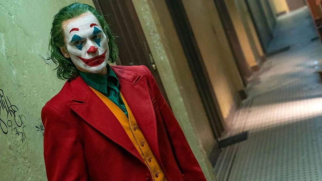 Joaquin Phoenix in<i> Joker</i>.