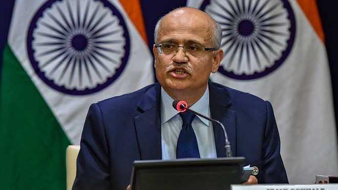Foreign Secretary Vijay Keshav Gokhale.