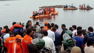 Godavari: Search and rescue operations underway after a boat with about 60 tourists capsized in Godavari river in Andhra Pradesh