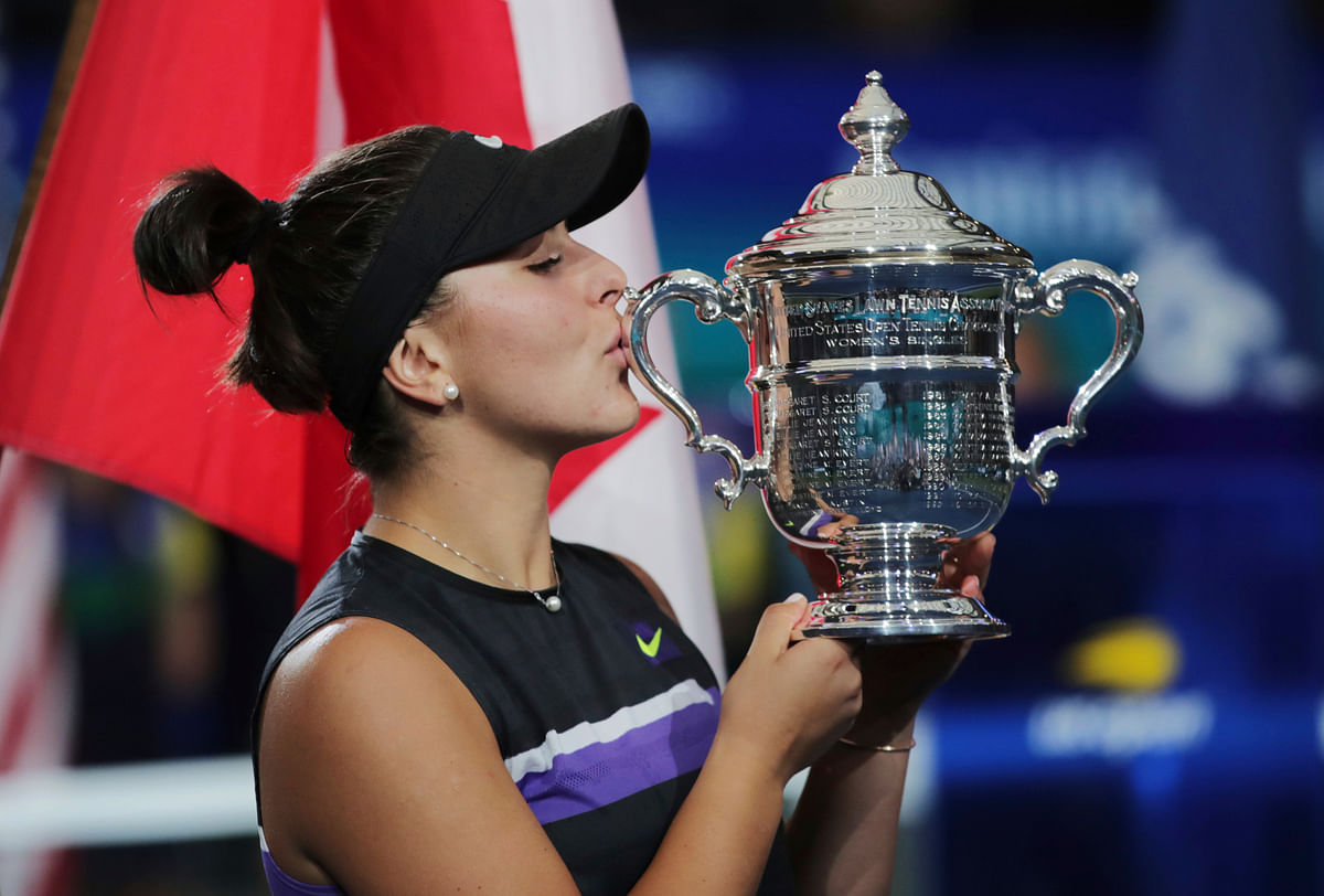 Bianca Andreescu of Canada won her first major championship and stopped Williams from claiming a record-tying 24th.