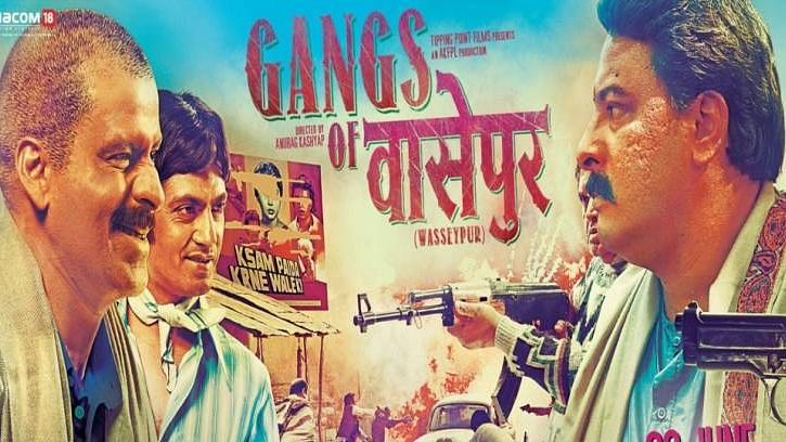 Anurag Kashyap's 'Gangs of Wasseypur' features on the 59th position.