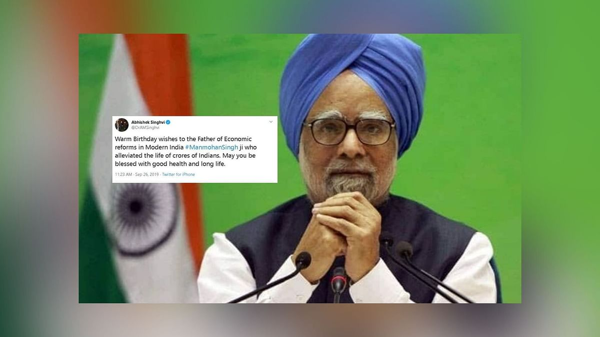 From PM Modi to Rahul Gandhi, wishes poured in onformer PM Manmohan Singh's birthday.
