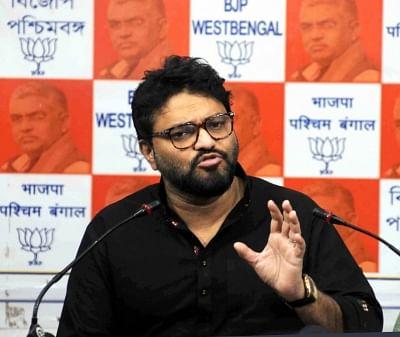 Union Minister Babul Supriyo. (Photo: Kuntal Chakrabarty/IANS)