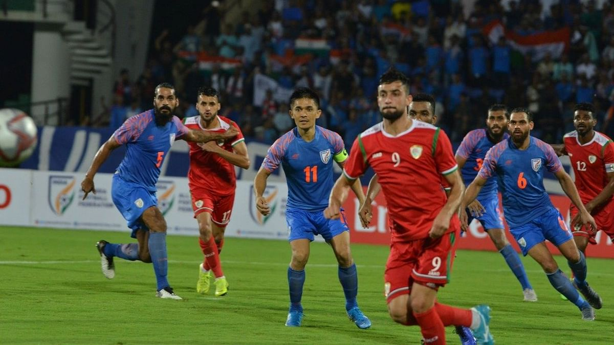 Oman scored two goals late in the second half to beat India 2-1in  their opening fixture of the 2022 FIFA World Cup Qualifiers on Thursday.