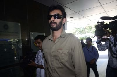 Mumbai: BCCI selector Vikram Rathour arrives to attend the the selection committee meeting for India