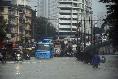 Rains cripple life in Mumbai - third time this monsoon