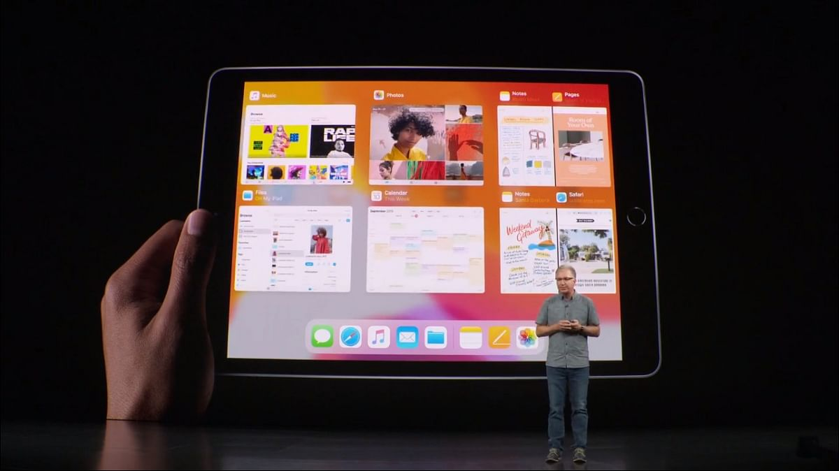 The new 10.2 inch iPad from Apple.