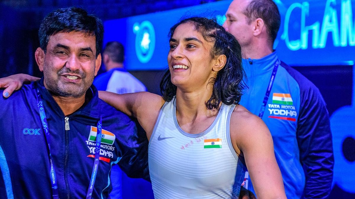 'I Believed in Myself', Says Vinesh After Winning Worlds Bronze
