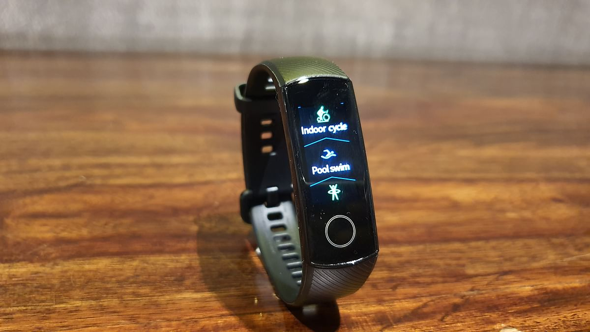 The Honor Band 5 offers multiple fitness activity tracking.