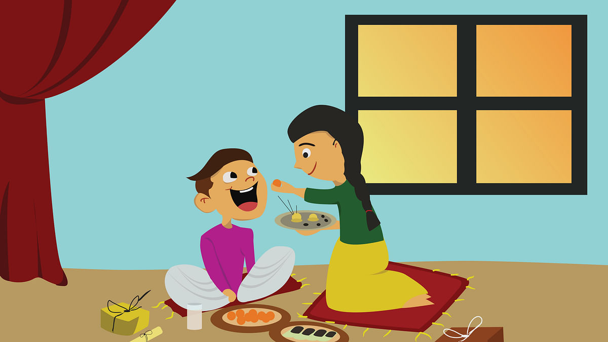 Happy Bhai Dooj Wishes for Brother & Sister: Bhai Dooj celebrates the beautiful bond that the brothers and sisters share.