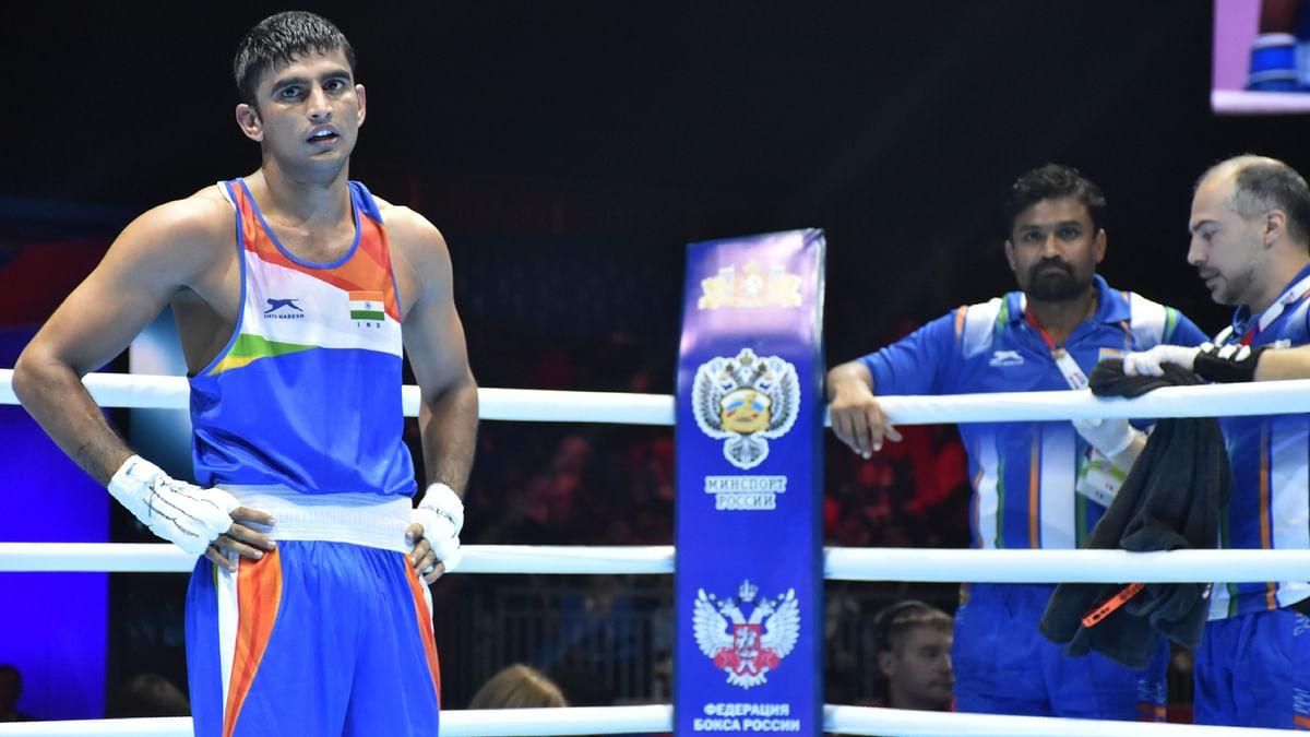 Manish Kaushik won a medal in his maiden World Championship.