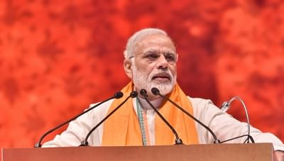 Will Modi drop in at Sangh event during his US visit?