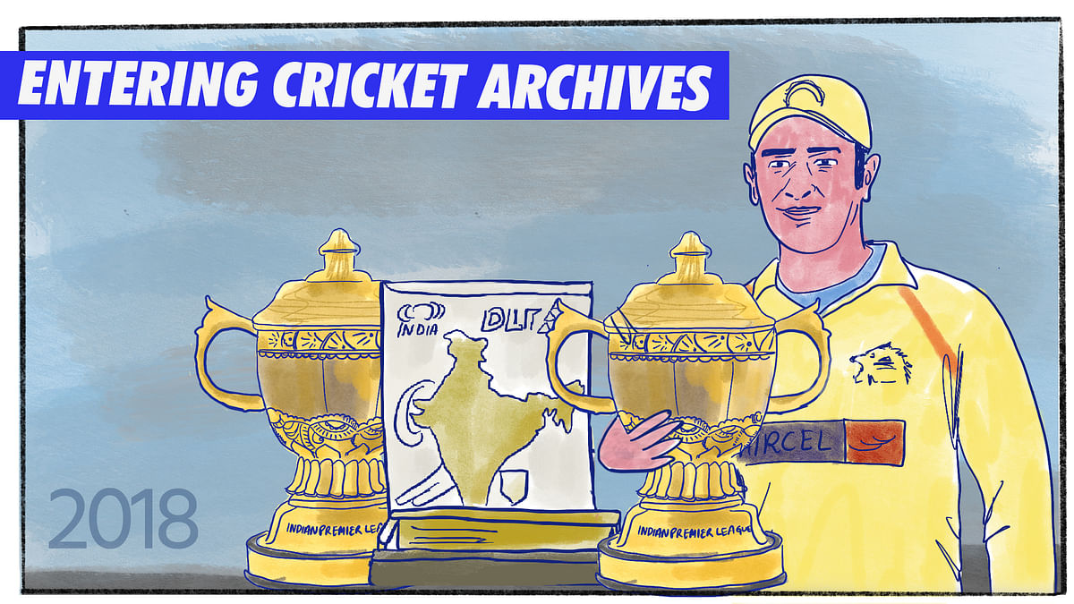 Railways TT to 'Captain Cool': MS Dhoni's Career, a Graphic Novel