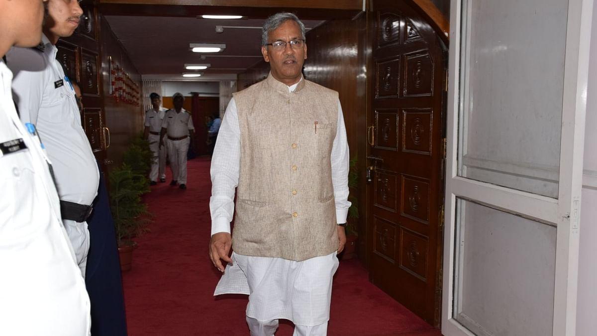 Uttarakhand CM Trivendra Singh Rawat.