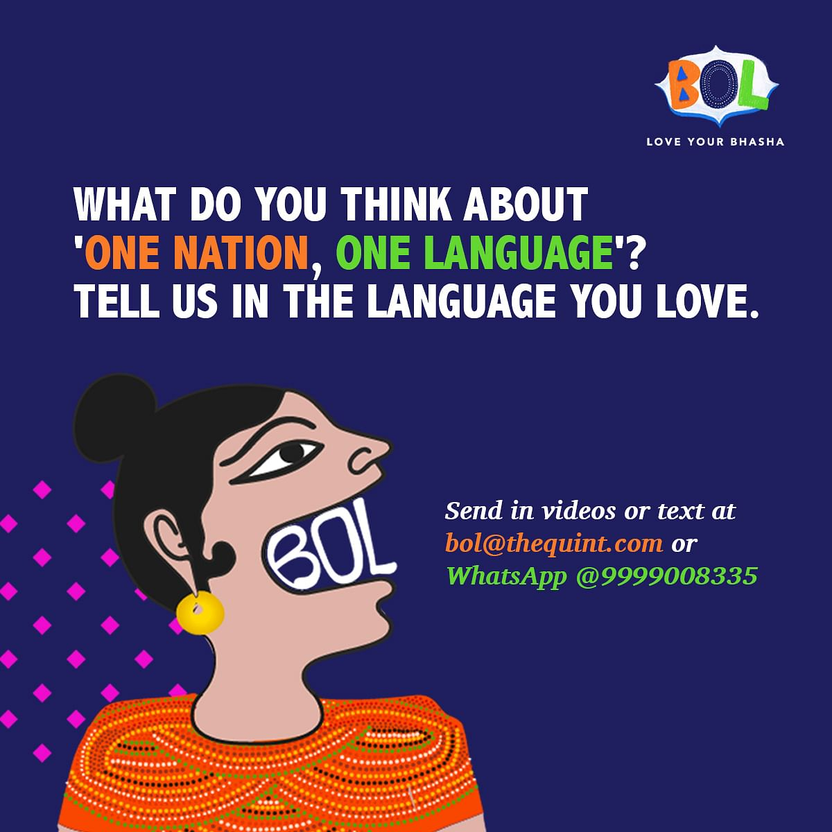 When English Is  Mother Tongue, But Hindi is the Aunty Having Fun!
