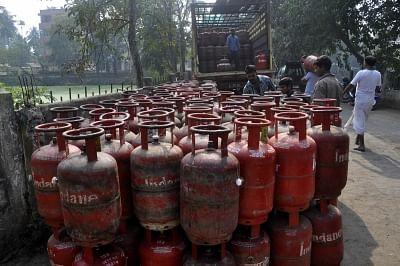 LPG cylinder. (File Photo: IANS)