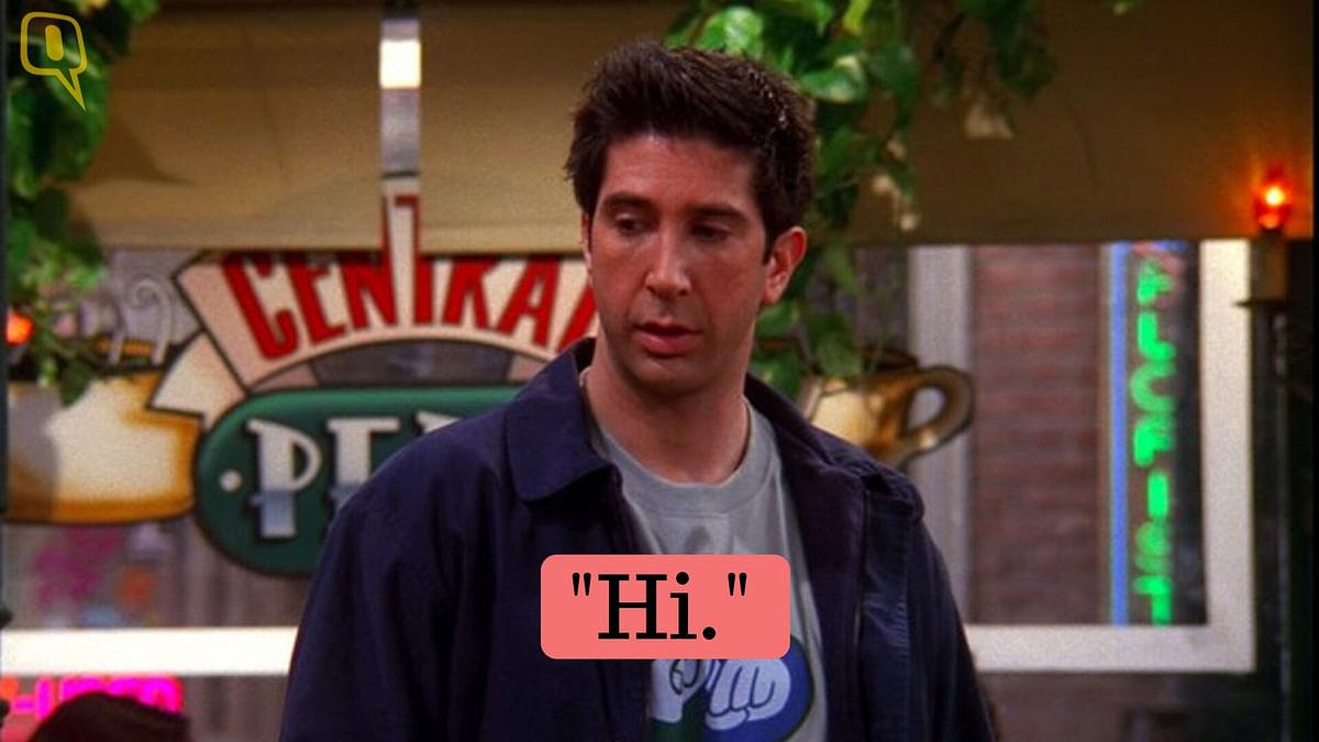 Ross Geller is played by David Schwimmer.