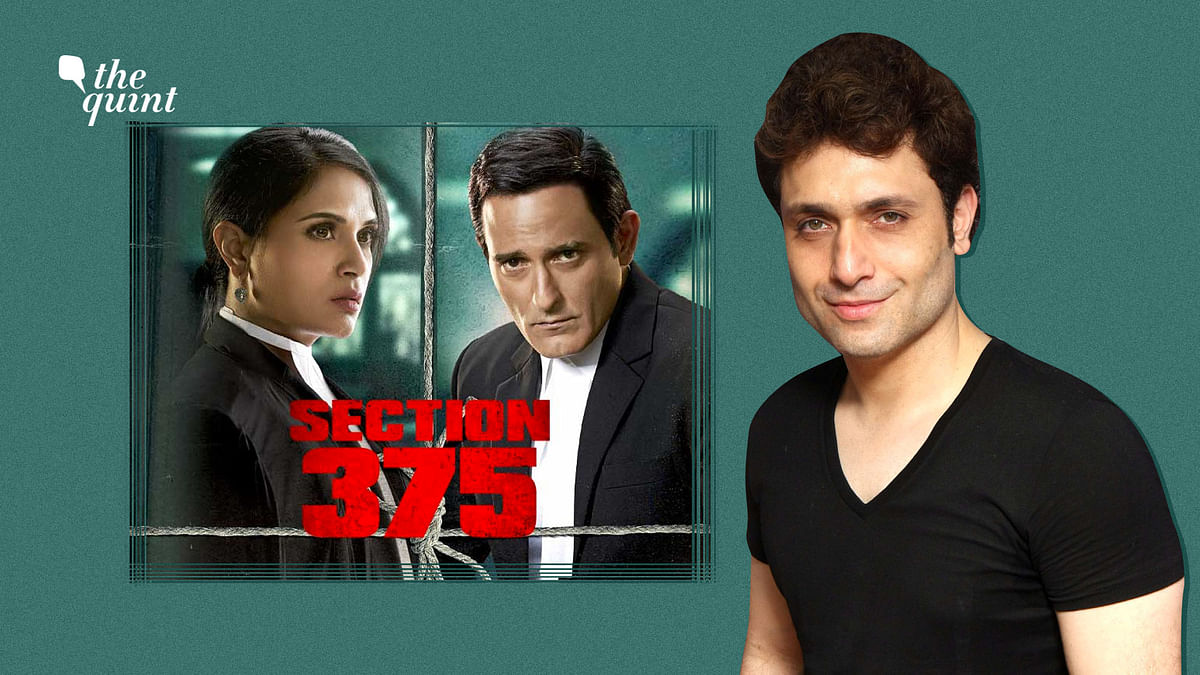 The writer of <i>Section</i> <i>375,</i> Manish Gupta, on what inspired the film.