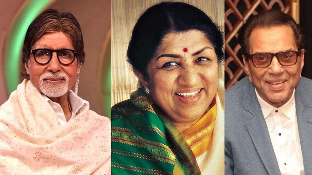 Big B & Dharmendra Make Special Videos for Lata Mangeshkar's B'Day