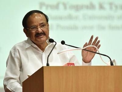 Vice President M. Venkaiah Naidu. (Photo: IANS/PIB)