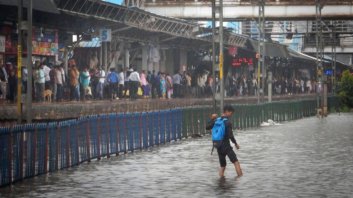 For the fourth time this monsoon, Mumbai was brought to a near standstill by heavy rain on Wednesday with the city's suburbs receiving an average of 206.6 mm of rain in just six hours.