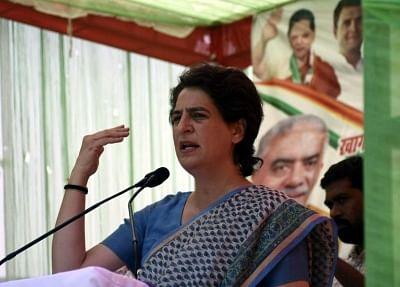 Priyanka Gandhi slams BJP over economic slowdown