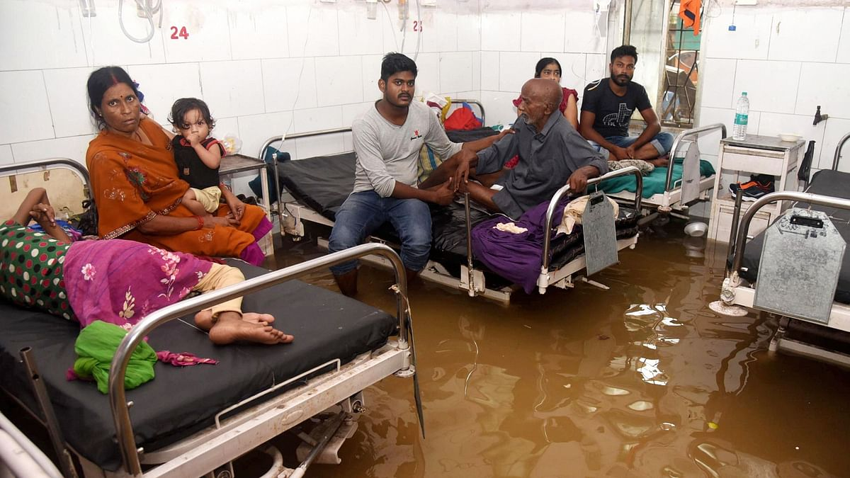 Bihar Floods: 73 Dead, 9 Injured; Orange Alert  in Four Districts