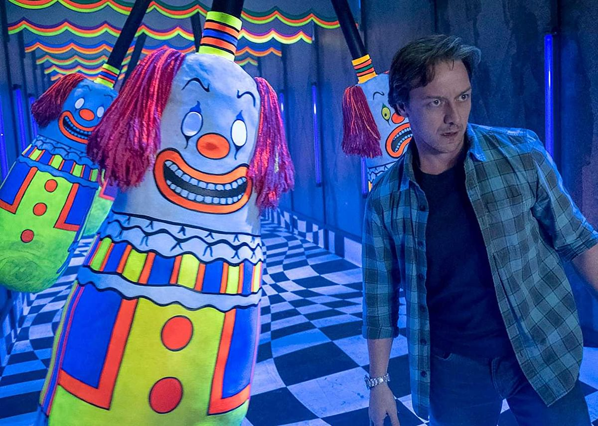 James McAvoy plays novelist Bill Denbrough in 'It Chapter Two'.