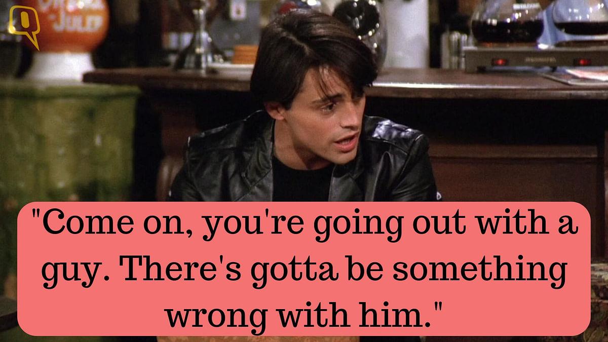 Joey Tribbiani is played by Matt LeBlanc.