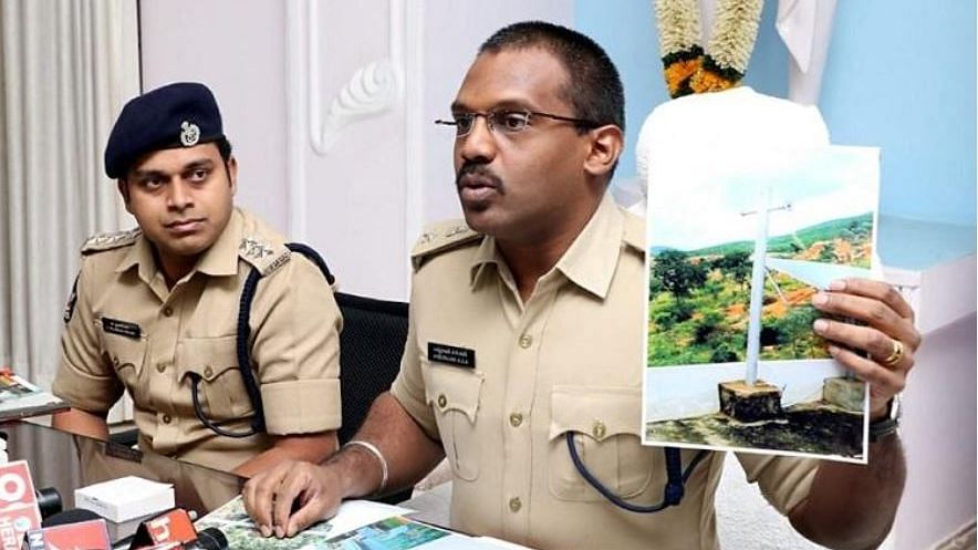Three have been arrested for spreading misinformation about a church being built in Tirumala.