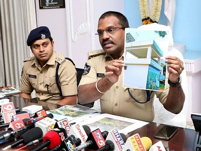 AP Cops Arrest 3 For Spreading False News of 'Cross' at Temple