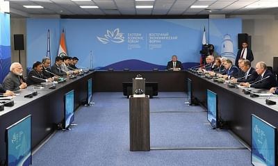 Modi explains J&K decision to Putin, says 'false' information being peddled