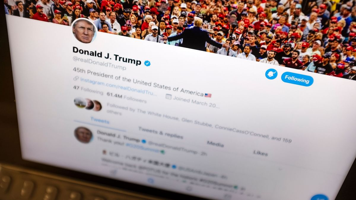 Twitter Labels Trump's Tweet Threatening Protesters as 'Abusive'