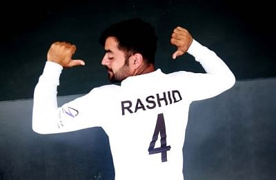 Rashid Khan.