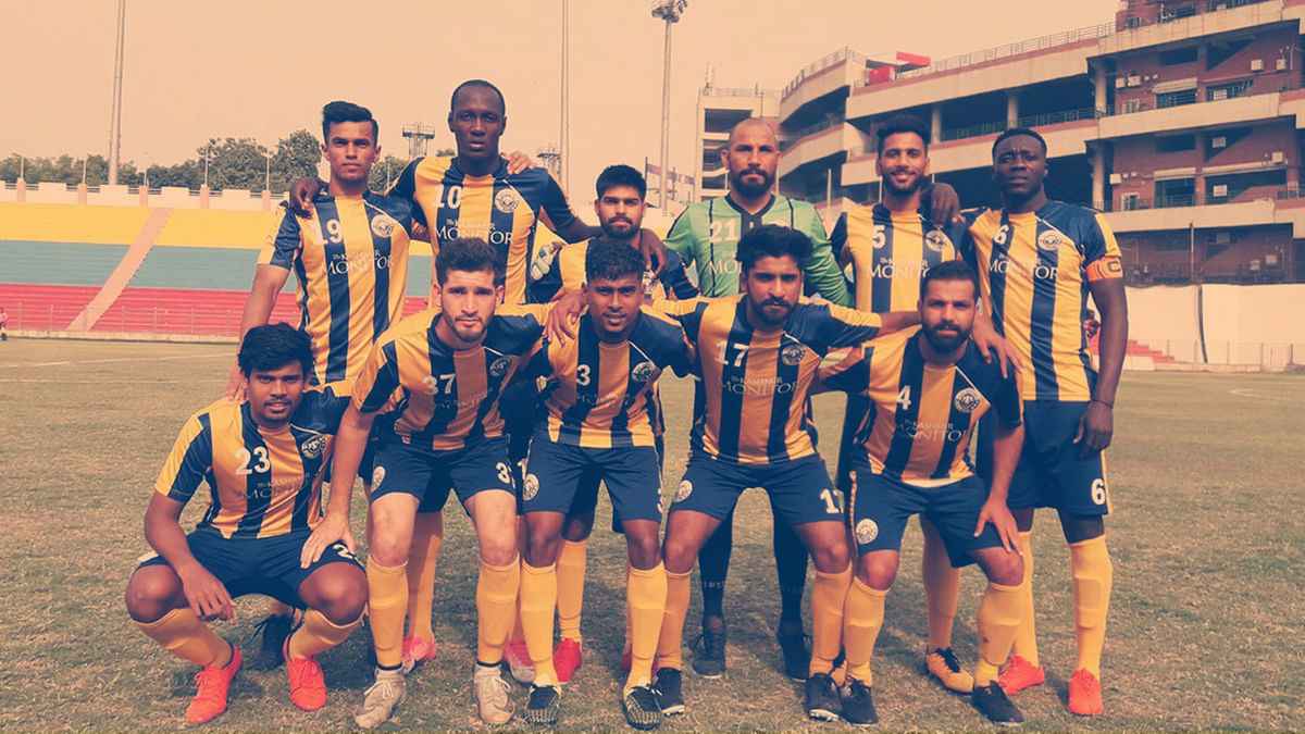 Players of Real Kashmir FC