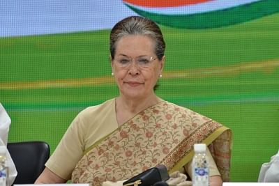 New Delhi: Congress interim President Sonia Gandhi during a meeting of party general secretaries, state in-charges, state unit chiefs and others at party Headquarters in New Delhi on Sep 12, 2019. (Photo: IANS)