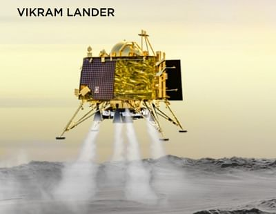 Vikram Lander. (Photo: IANS/ISRO)