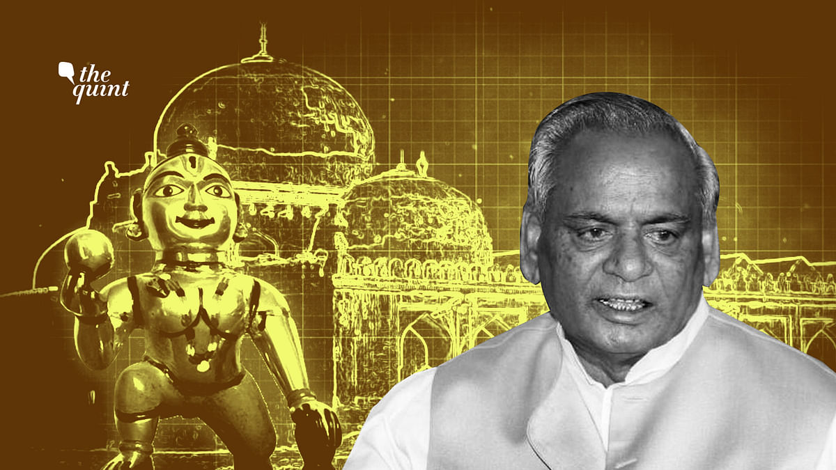 At the end of the day, Kalyan Singh may steal the Ayodhya thunder.