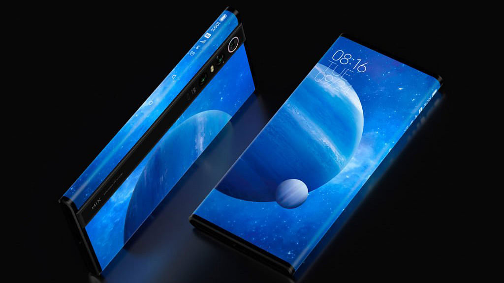 This is the new Mi Mix Alpha, in its concept avatar.