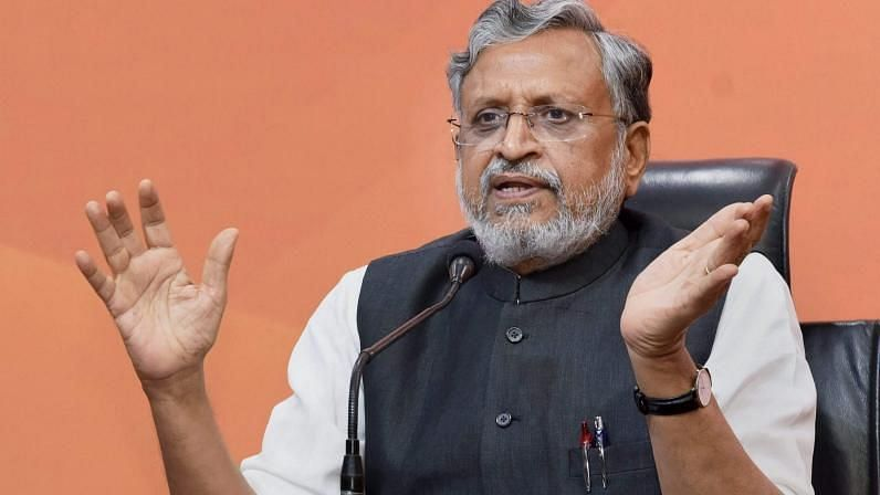 BJP Picks Sushil Modi For Rajya Sabha Bypoll in Bihar