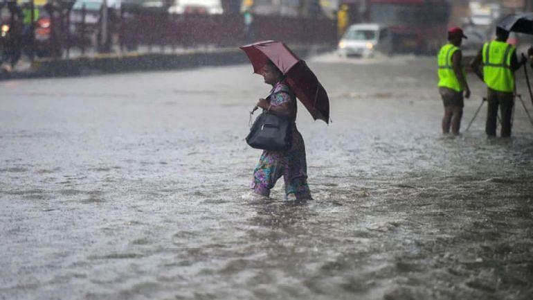 Heavy rains in Karnataka also led to water logging.