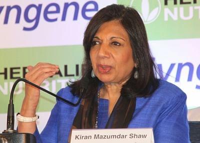 Kiran Mazumdar-Shaw. (File Photo: IANS)