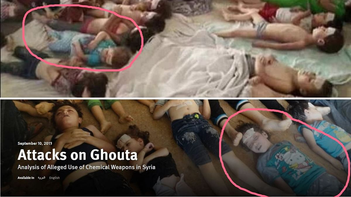 Photo of Kids Killed in Syria Shared as Organ Theft in Tamil Nadu