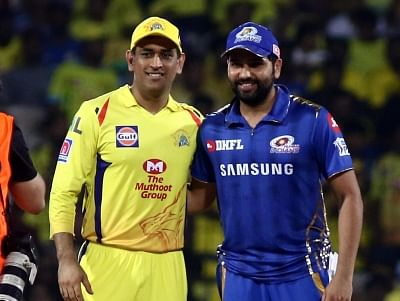 Chennai: Chennai Super Kings skipper MS Dhoni and Mumbai Indians